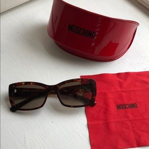 Moschino Micro glasses tortoise shell